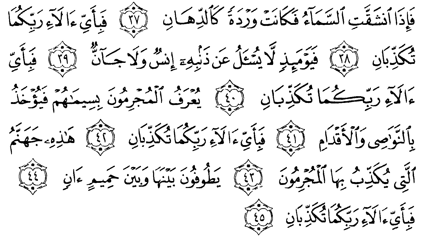 Tafsir Al Quran Surah Ar Rahman 4 Alquranmulia
