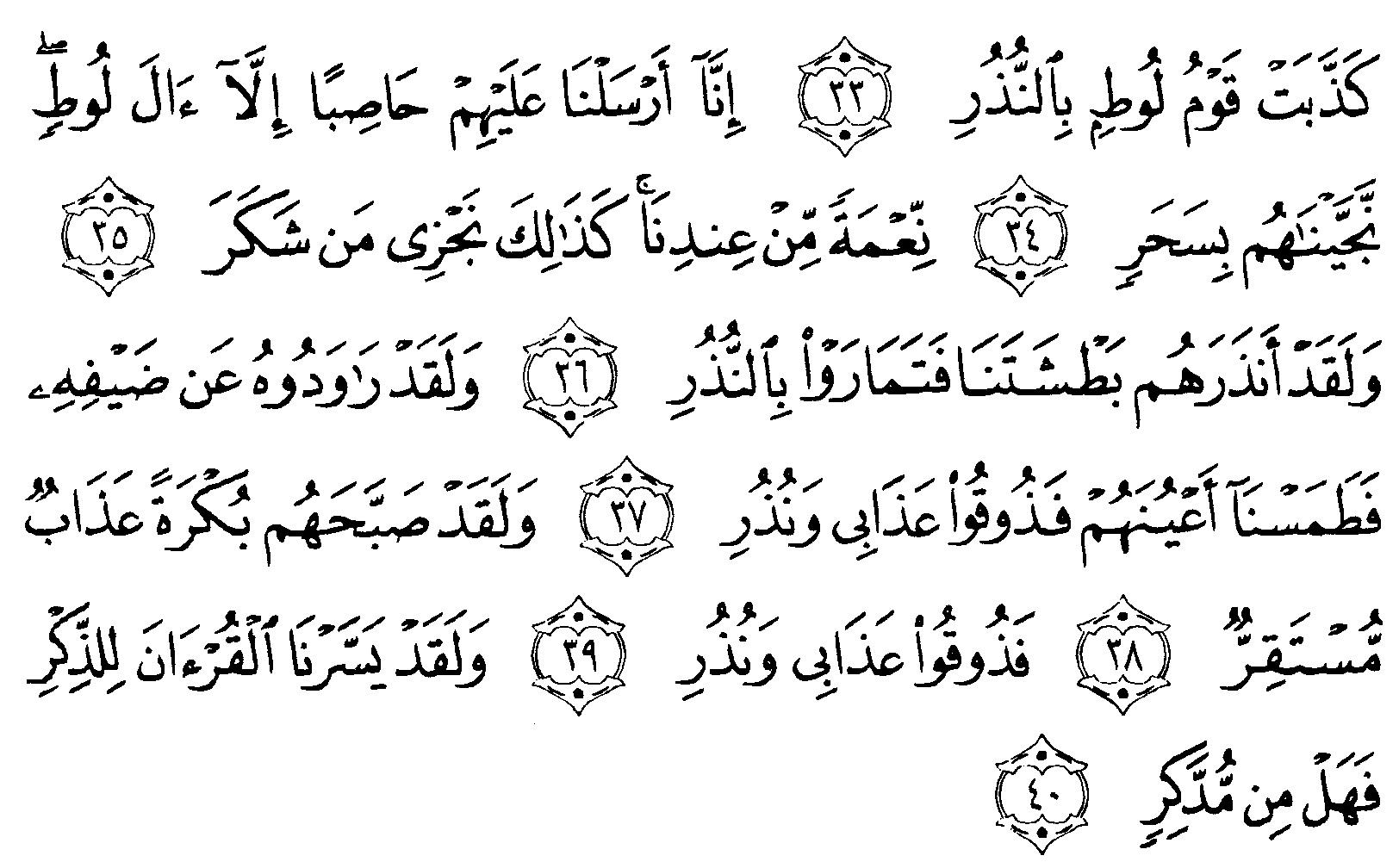 Tafsir Al Quran Surah Al Qamar 4 Alquranmulia