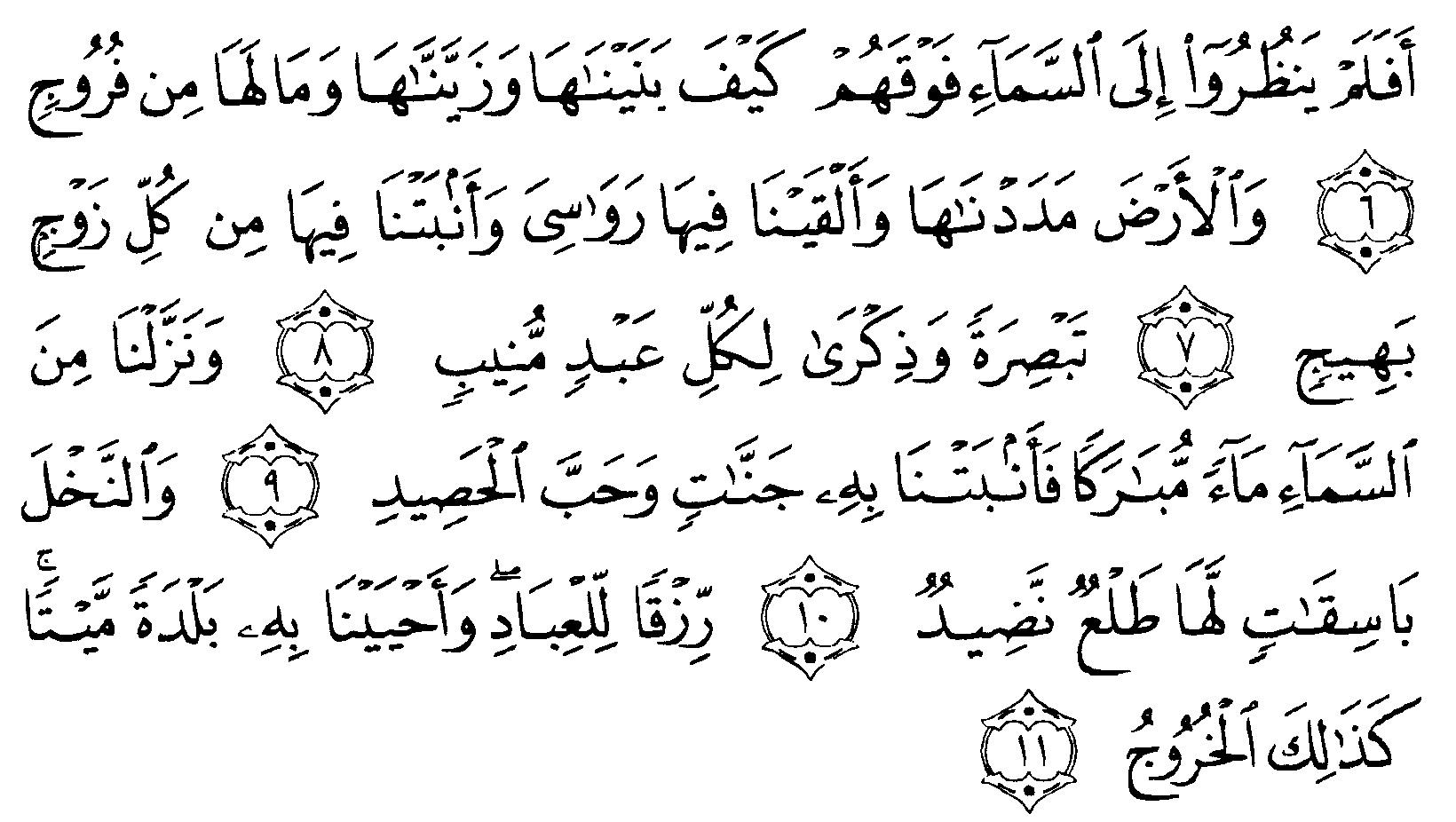 Tafsir Al Quran Surah Qaaf 2 Alquranmulia