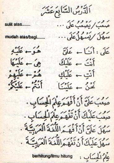 c28 Bahasa Arab Sha'uba (Sulit) SaHula (Mudah)
