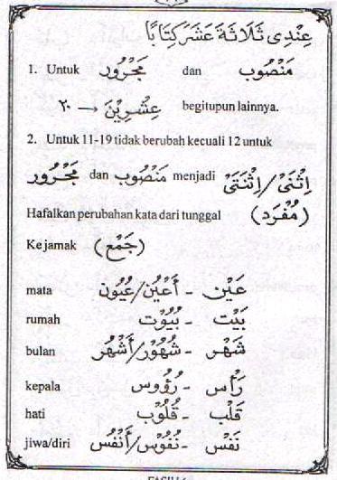f27 Bahasa Arab 'Adada (Hitungan)