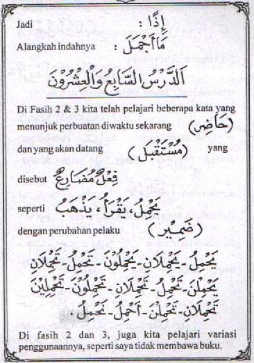 f3 Bahasa Arab Lam Nafyi (Tidak) Lam Nahyi (Jangan)