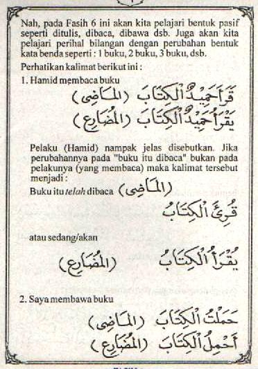 f6 Bahasa Arab Lam Nafyi (Tidak) Lam Nahyi (Jangan)