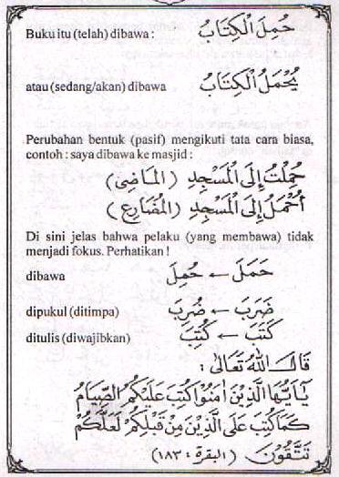 f7 Bahasa Arab Lam Nafyi (Tidak) Lam Nahyi (Jangan)
