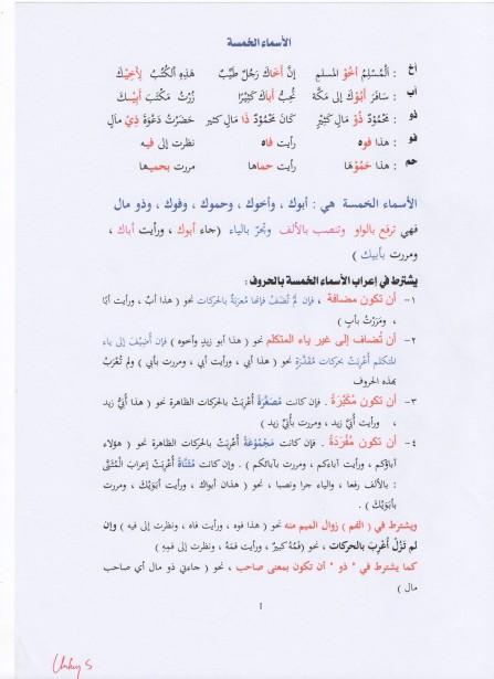asmaul khamsah