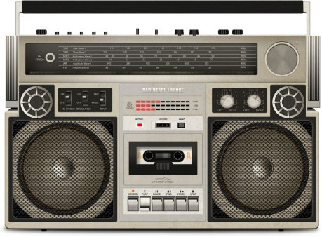 radio-tape