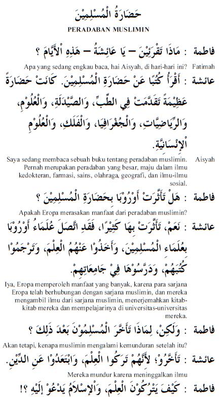 Percakapan Bahasa Arab 59 Peradaban Muslimin