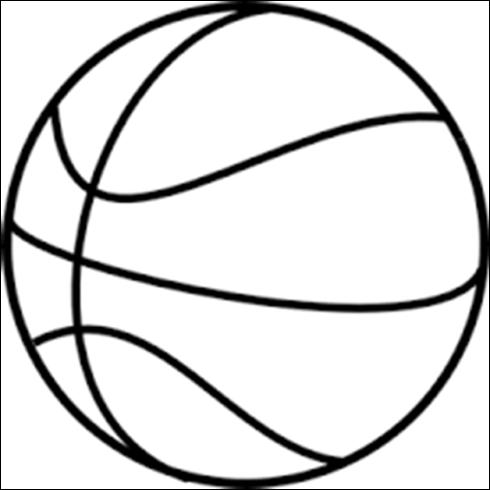 Mewarnai gambar bola basket anak muslim