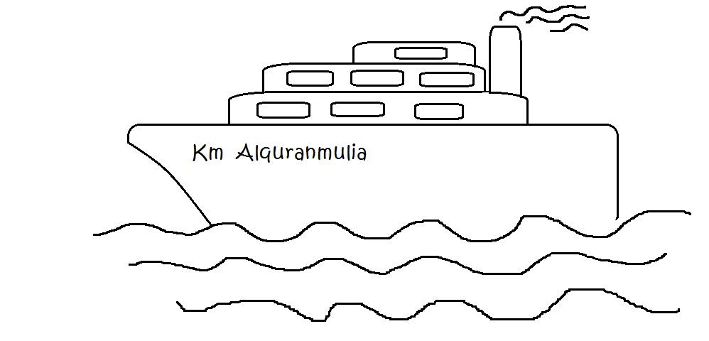 Kapal Laut Alquranmulia