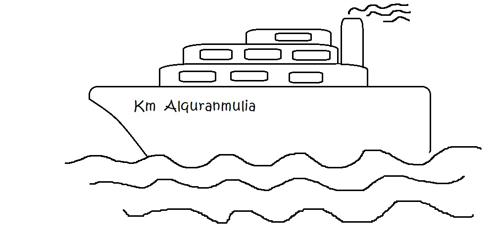 Izarnazar Cara Mewarnai Gambar Kapal Laut