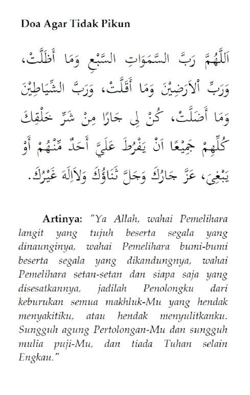 Doa Agar Tidak Pikun