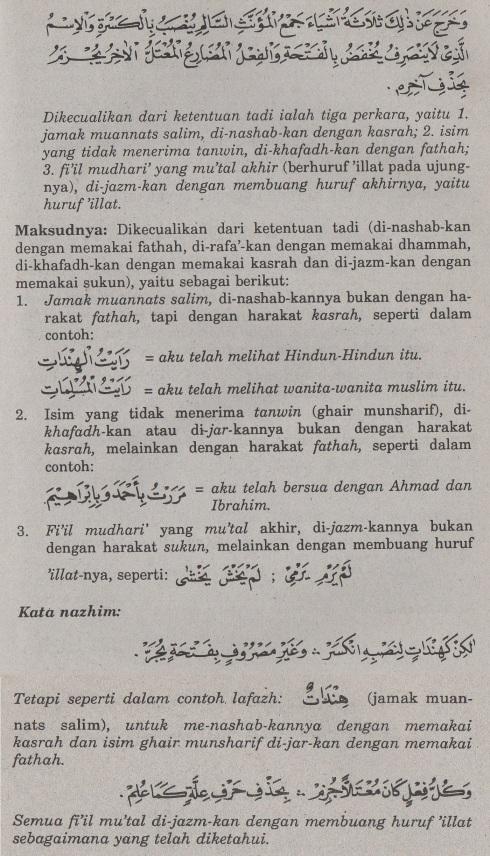 belajar bahasa arab ilmu nahwu i'rab dengan harakat.3