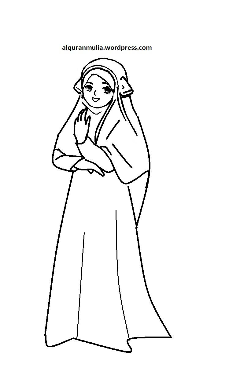 Gambar Pengukir Sejarah Maret 2013 Tulisan Ririn Mewarnai Gambar Wanita Muslimah di Rebanas