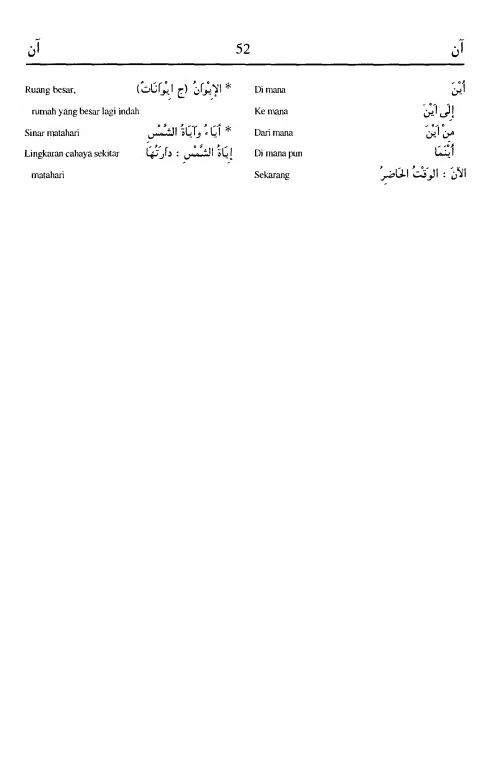 52. kamus arab almunawir -aana-aana
