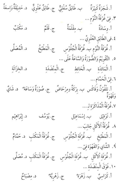 percakapan bahasa arab tsanawiyah - baitii -rumahku12