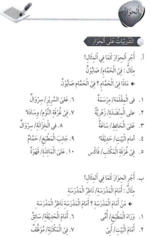 percakapan bahasa arab tsanawiyah - baitii -rumahku5