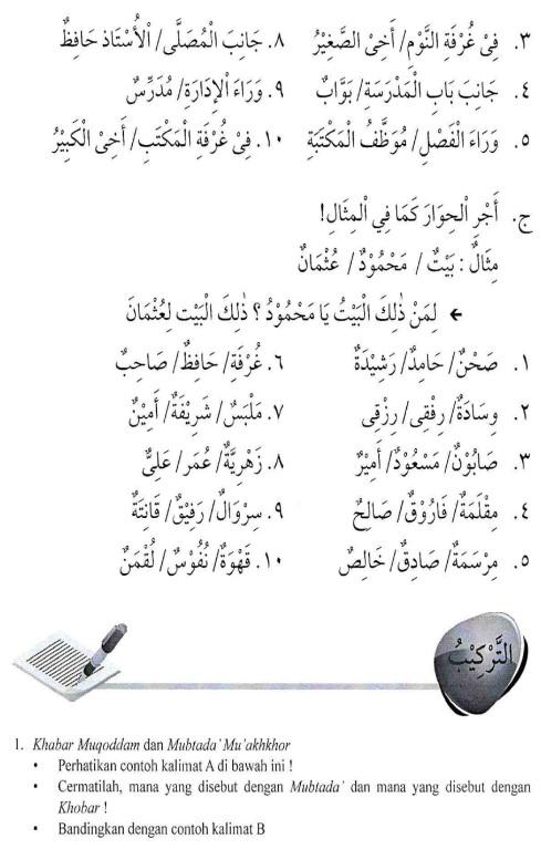 percakapan bahasa arab tsanawiyah - baitii -rumahku6