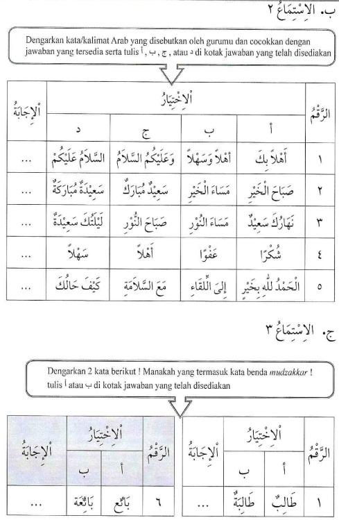 percakapan bahasa arab tsanawiyah - fil fashli- di kelas19