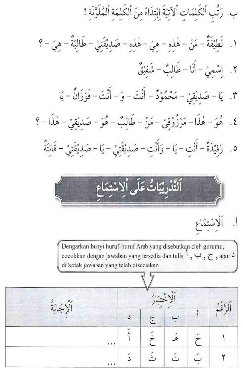 percakapan bahasa arab tsanawiyah - man Haadzaa - mengenal sesuatu11