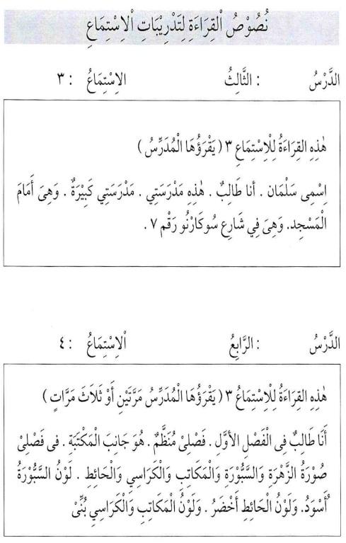 percakapan bahasa arab tsanawiyah - min yaumiyyaatil ustrati -aktifitas keluarga sehari-hari24