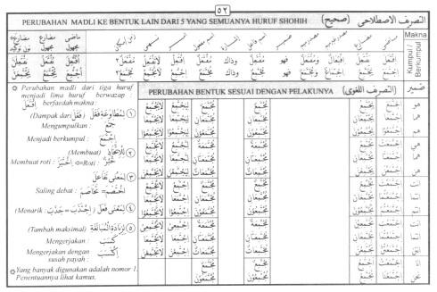 Tasrif kata ijtama'a (berkumpul)