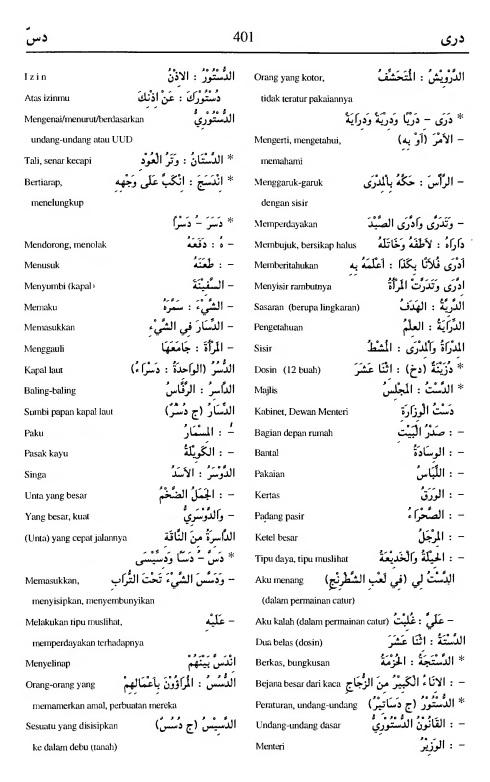 401. Kamus Bahasa Arab Al-Munawir - daraa-dassa