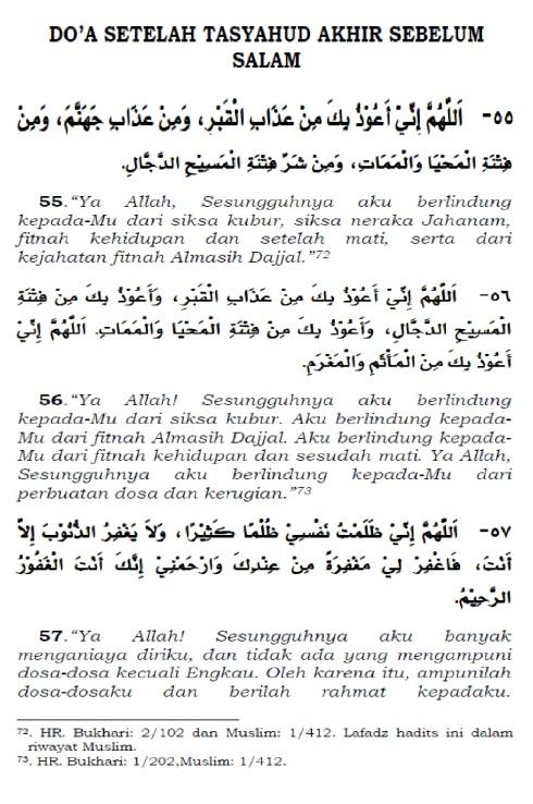 doa setelah tasyahud akhir sebelum salam 1