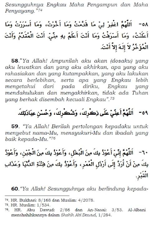 doa setelah tasyahud akhir sebelum salam 2