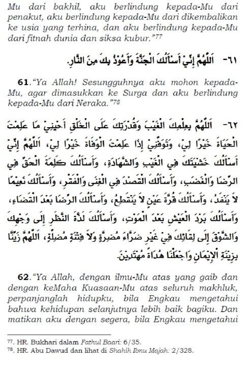 doa setelah tasyahud akhir sebelum salam 3