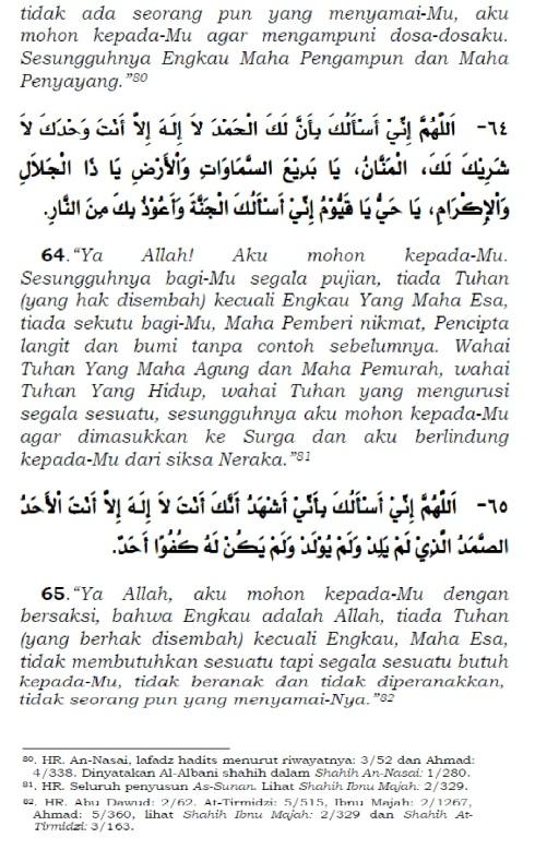 doa setelah tasyahud akhir sebelum salam 5
