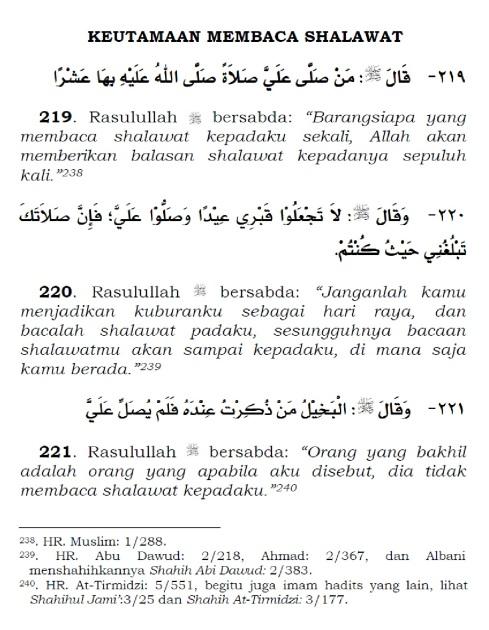 keutamaan membaca shalawat nabi 1