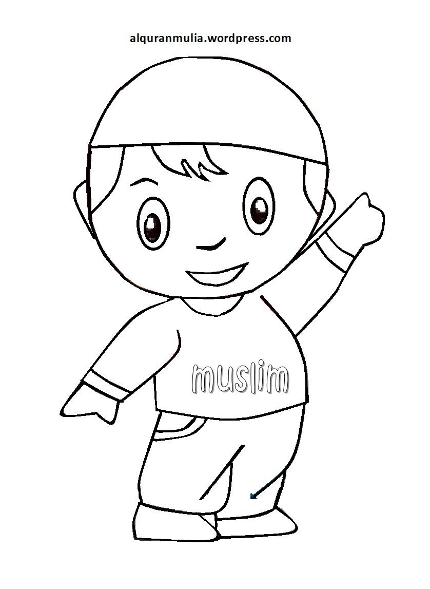 47 Gambar Kartun Anak Ngaji Terbaik