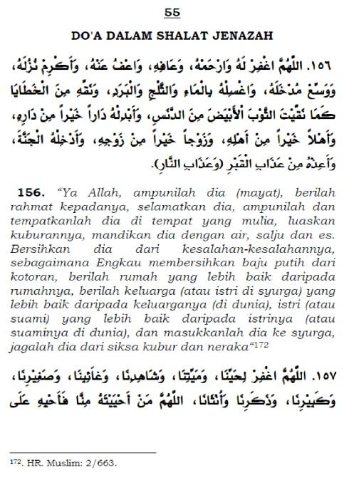 doa dalam shalat jenazah 1
