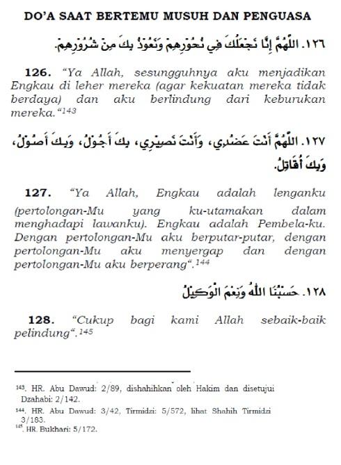 doa saat bertemu musuh dan penguasa