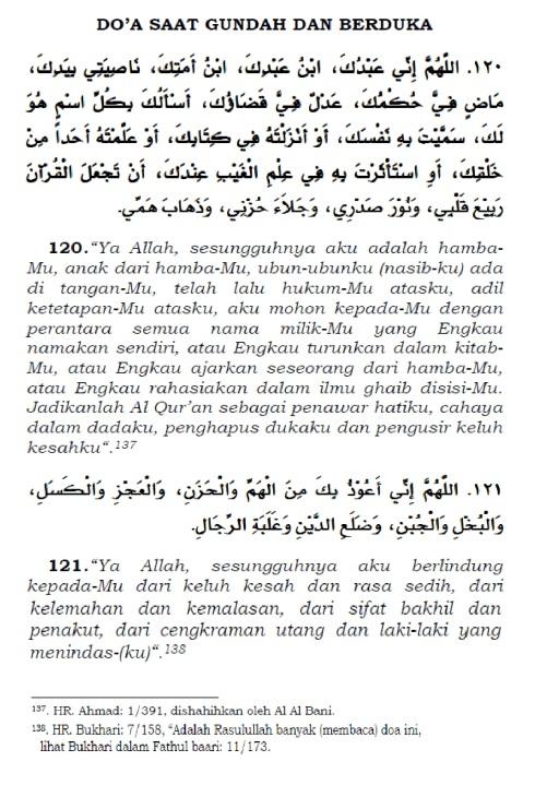 doa saat gundah dan berduka