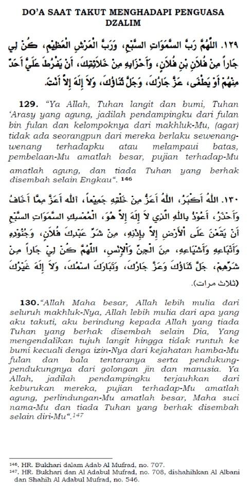 doa saat takut menghadapi penguasa yang dhalim