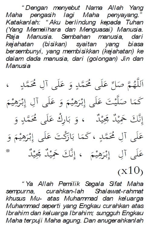 doa selamat dari marabahaya 3