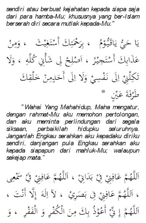 doa selamat dari marabahaya 9