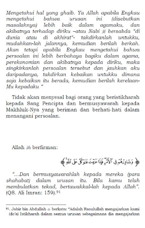 doa shalat istikharah 2