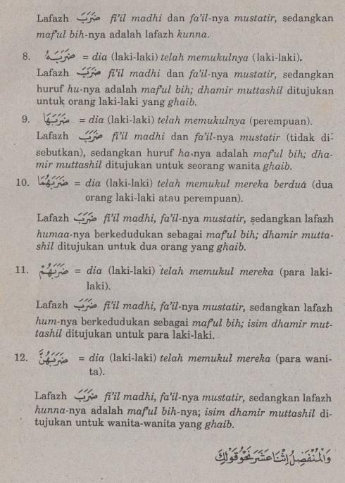 belajar bahasa arab ilmu nahwu -maf'ul bihi 3