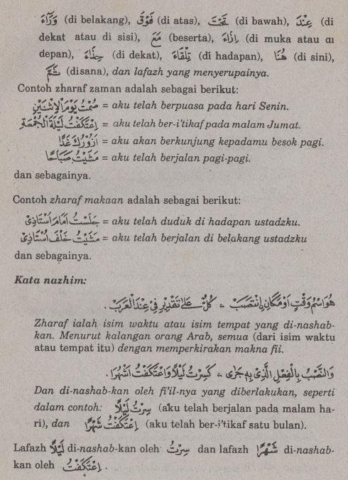 belajar bahasa arab ilmu nahwu -zharaf zaman dan makaan 2