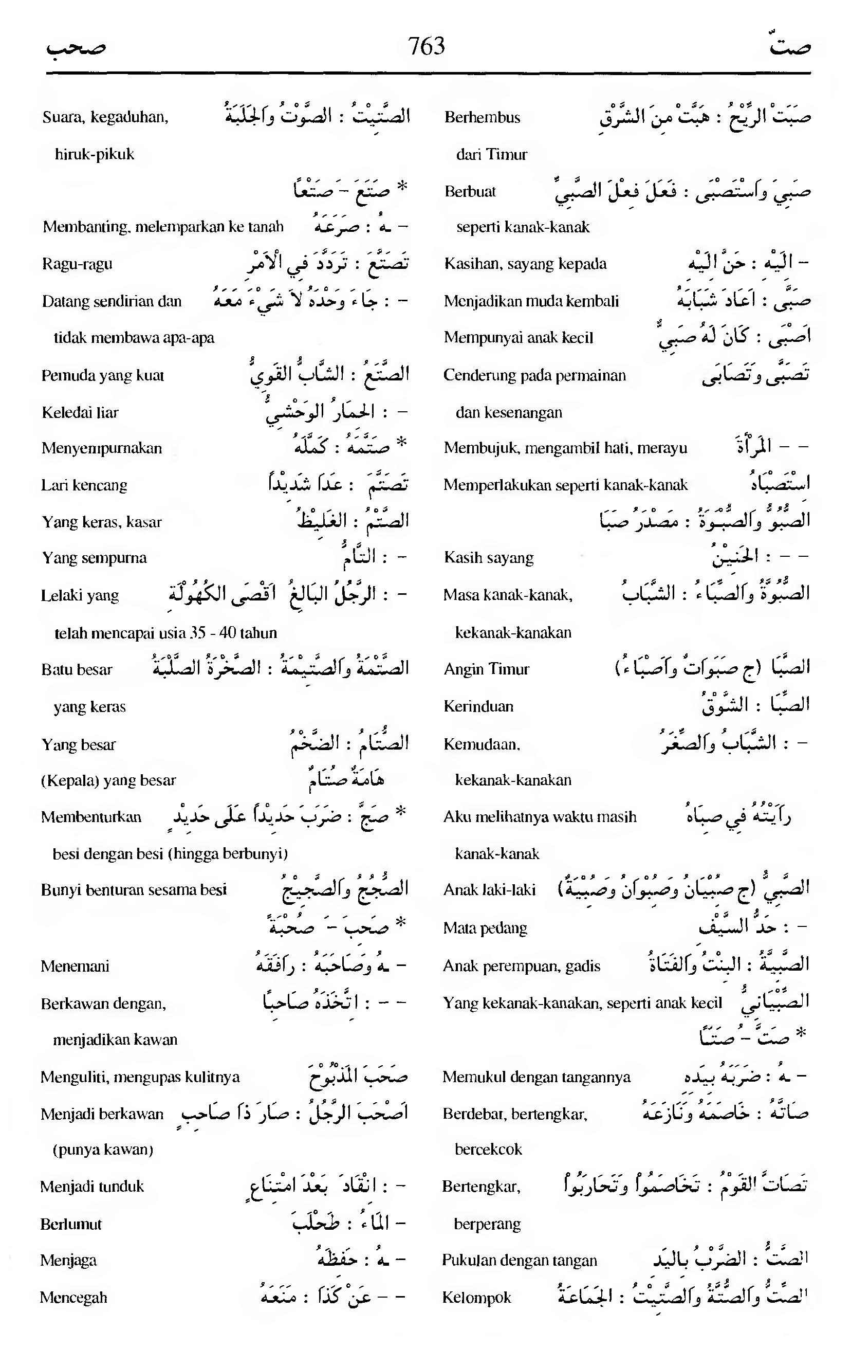 763 Kamus Bahasa Arab Al-Munawir --shotta-shahaba