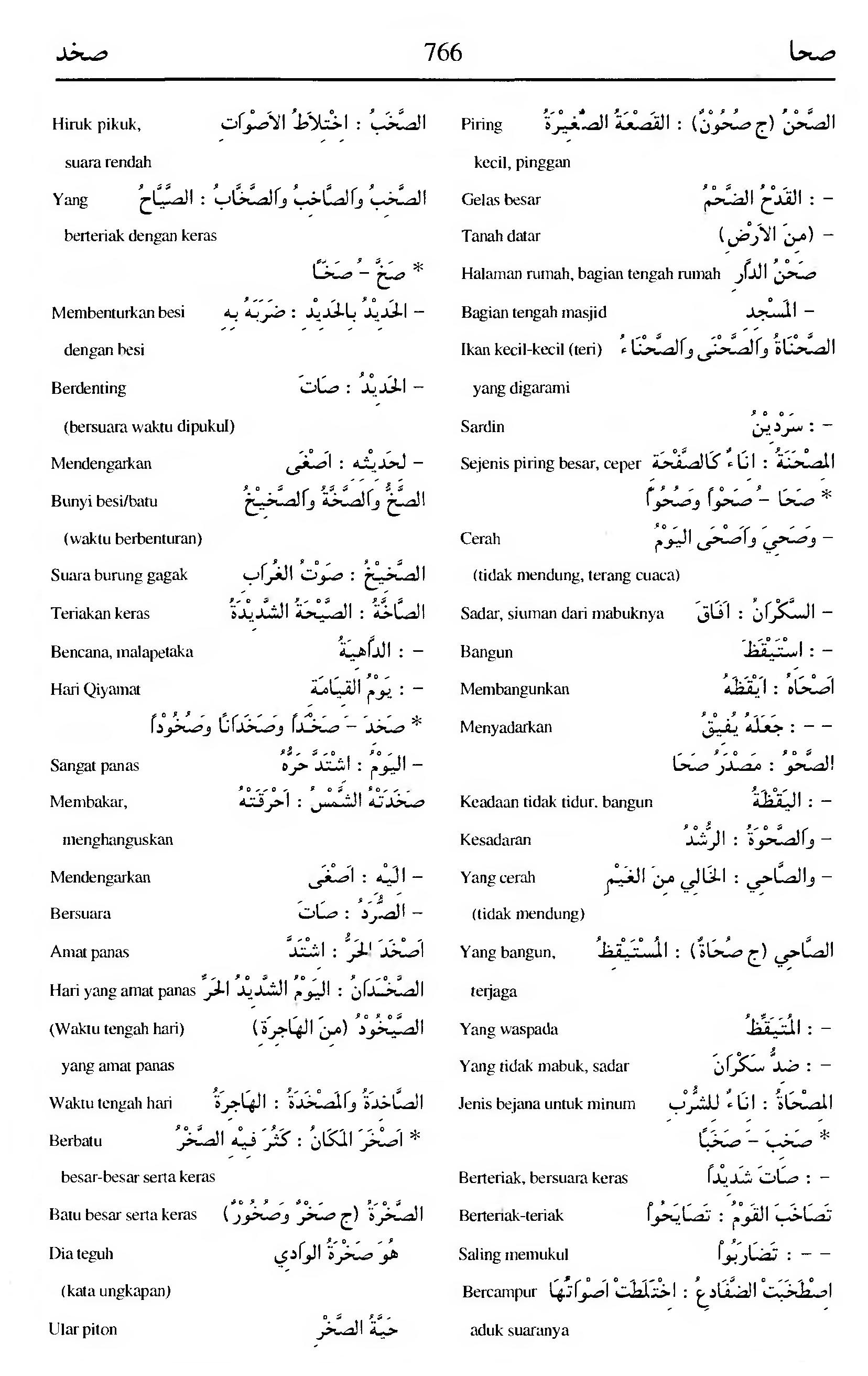 766 Kamus Bahasa Arab Al-Munawir --shahaa-shakhada